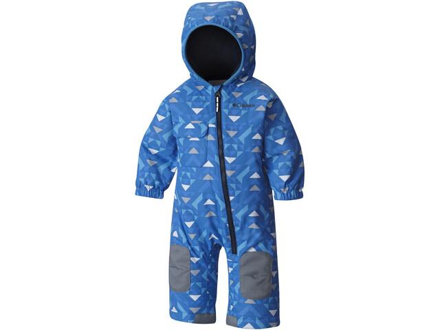 Columbia Hot-Tot Bovenlijf Protector Kinderen, super blue triangles